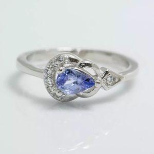 Jewelry - Beautiful Sterling Silver Tanzanite Ring  🔥SALE🔥